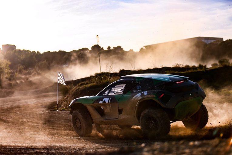 ラリー/WRC | 『エクストリームE』用電動SUV、2020年ダカールラリー参戦へ。最終ステージに出走して実戦テスト