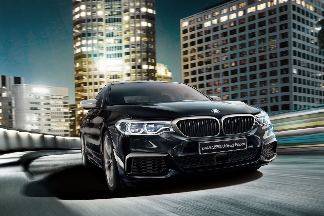 M社製のV8搭載、『BMW M550i xDrive Ultimate Edition』が55台限定で登場