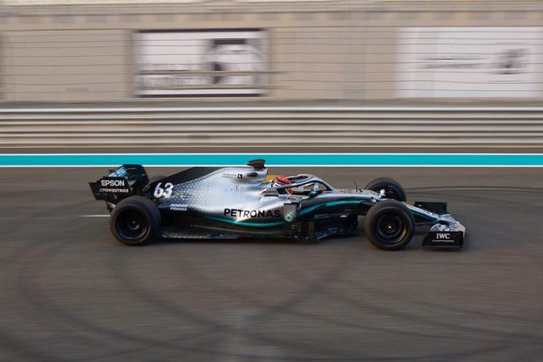 F1 | メルセデスF1が新18インチタイヤのテスト。ラッセルが200周以上を走りこむ
