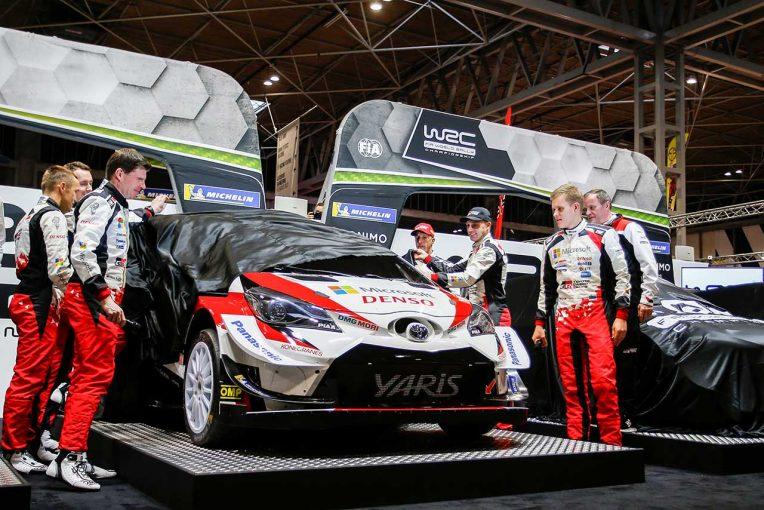 ラリー/WRC | WRC:トヨタ、2020年参戦体制を東京オートサロンで発表。2020年参戦用車両も展示