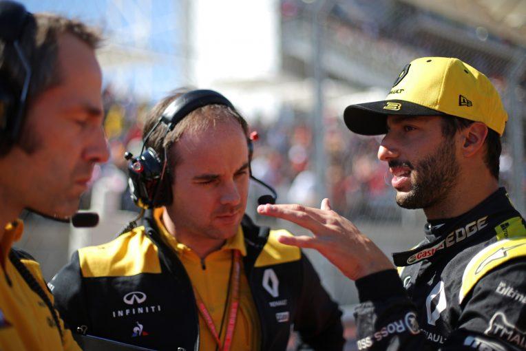 F1   リカルド「2020年に向けルノーF1を改善するためのアイデアがある」