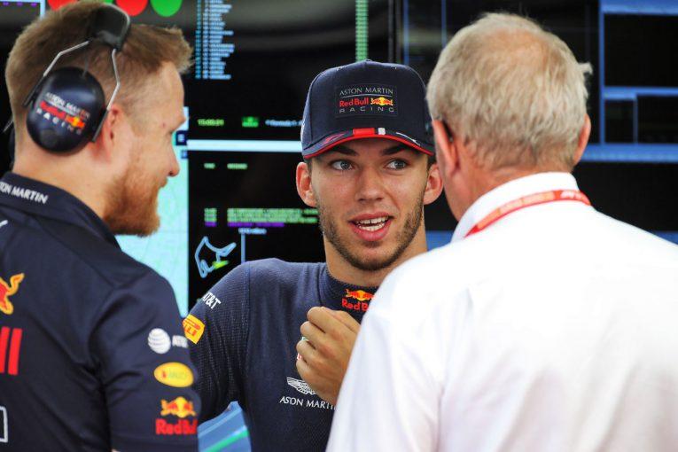 F1 | ガスリー「トロロッソF1への降格を告げられた時、不公平だと思った」