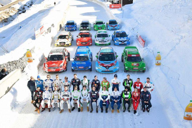 ラリー/WRC | 完全EV化の氷上戦『アンドロス・トロフィー』開幕。第1戦にはセバスチャン・ローブもスポット参戦