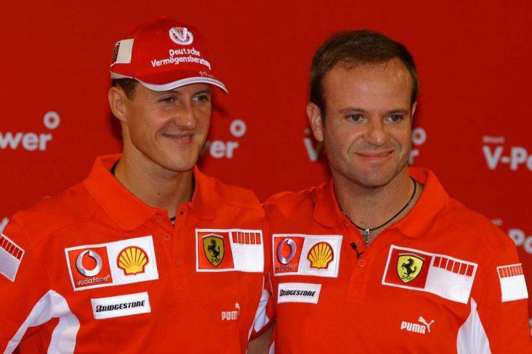 F1 | 元F1ドライバーのバリチェロ、シューマッハーとのフェラーリ時代を語る「チームは彼のものだと感じた」