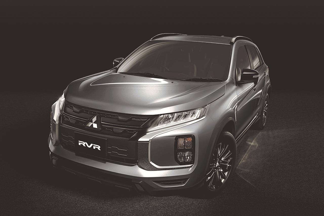 ミツビシ、RVRにブラックアクセントの特別仕様車『BLACK Edition』を設定