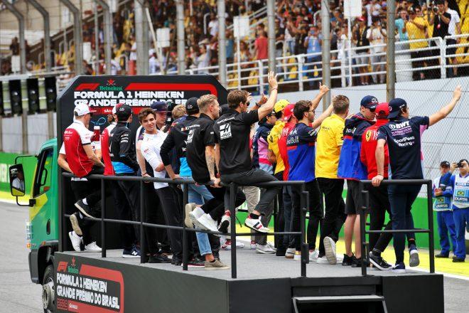 2019年F1ブラジルGPドライバーズパレード