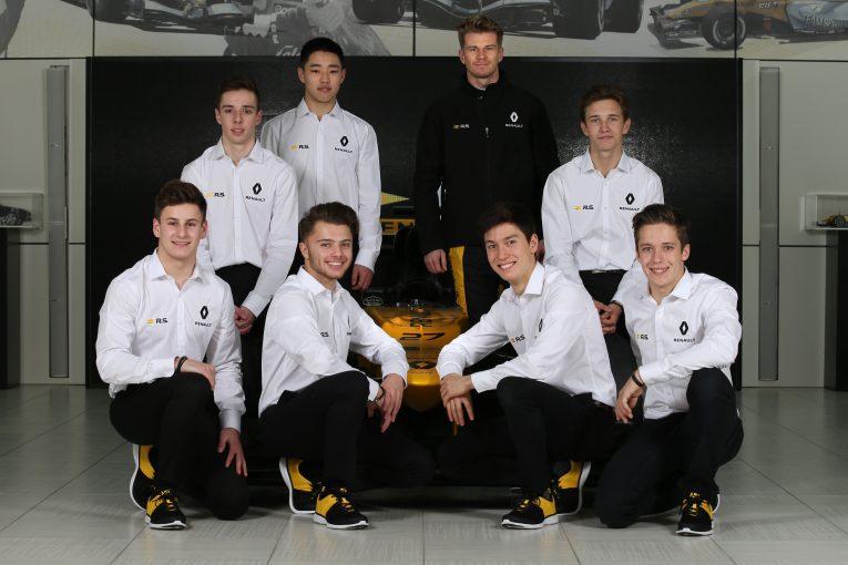 F1 | 若手育成プログラムに力を注ぐルノー「2021年までにF1ドライバーを輩出することが目標」