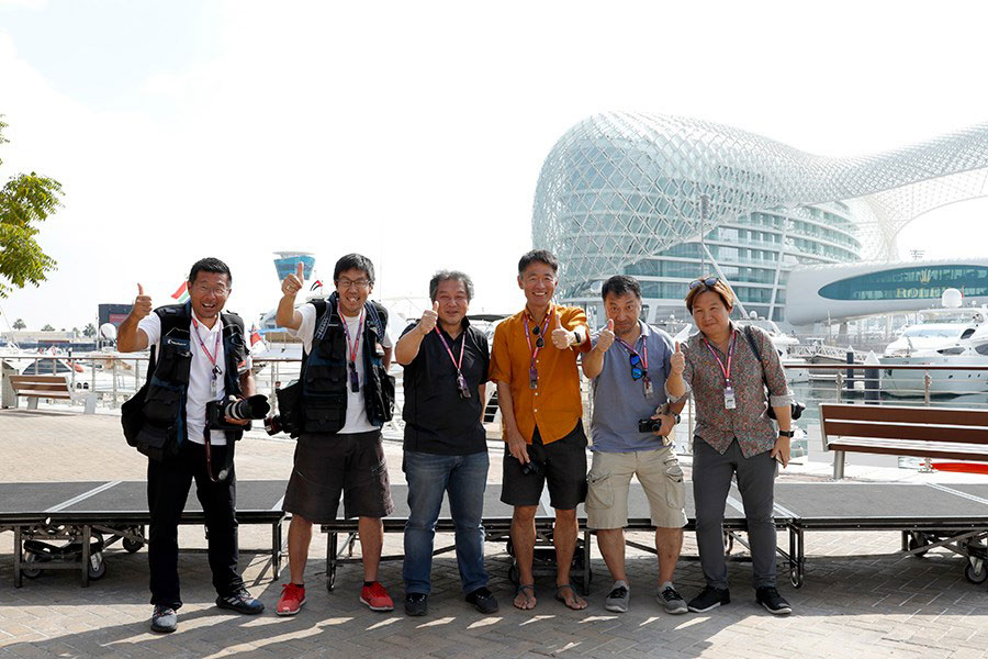 【ブログ】F1アブダビGP現地情報(2)