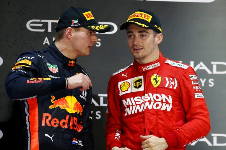 F1 | レッドブル・ホンダF1のフェルスタッペン「ルクレールのいるフェラーリに移籍することはない」