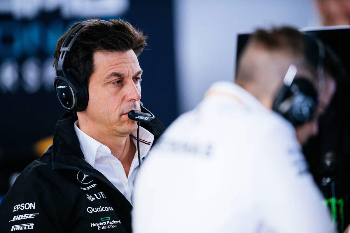 2019年F1第16戦ロシアGP トト・ウォルフ(メルセデスF1チーム代表)
