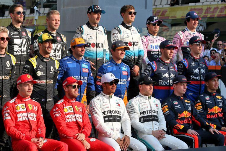 F1 | ドライバーが選ぶ2019年F1トップ10ドライバー:ホンダ勢はフェルスタッペン&ガスリーが圏内に