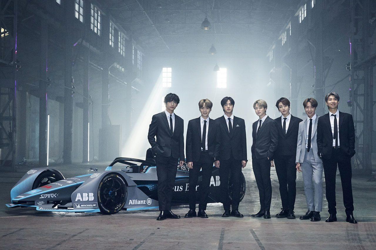 フォーミュラE:韓国の人気グループBTS、ソウルでも開催されるEVシリーズのアンバサダーに