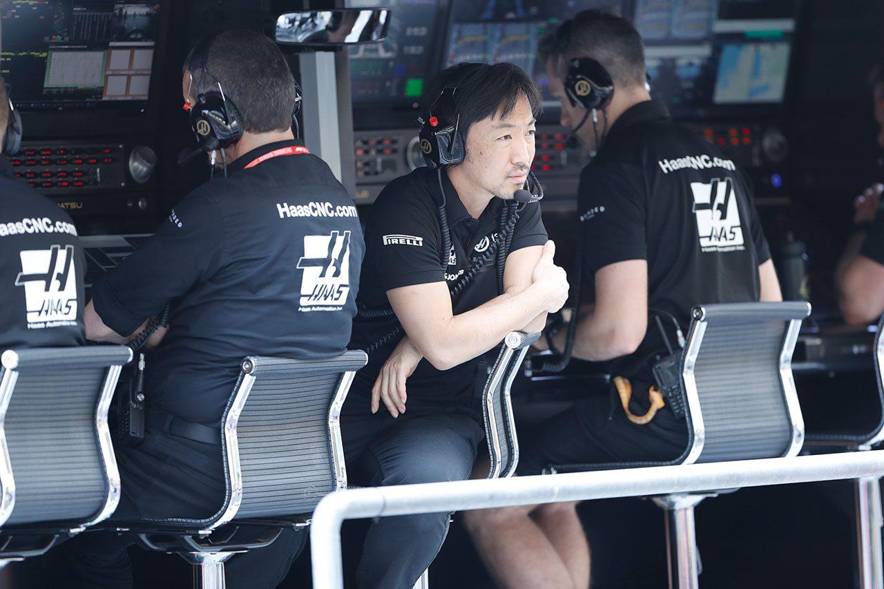 2019年F1最終戦アブダビGP 小松礼雄エンジニア(ハース)
