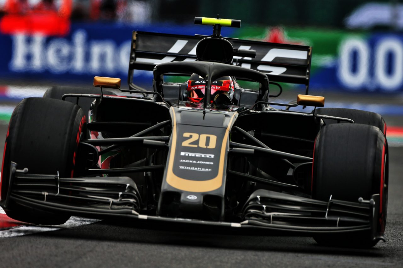 2019年F1メキシコGPでのマグヌッセン