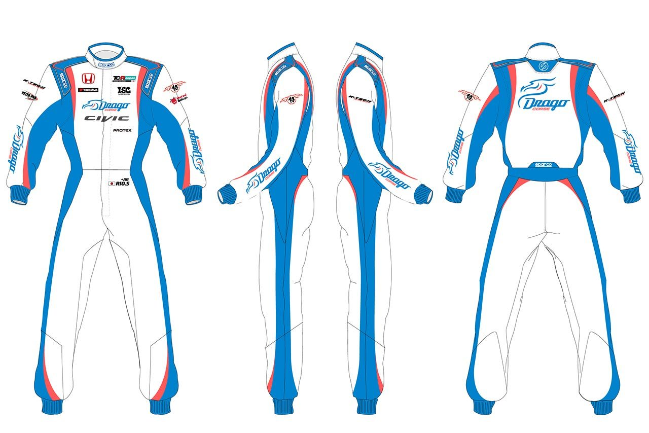 Drago CORSEがTCRジャパンシリーズにシビック・タイプR・TCRで参戦! 下野璃央を起用