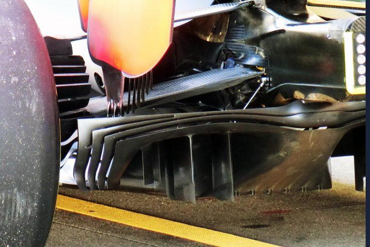 F1 | 【津川哲夫F1私的メカチェック】レッドブル・ホンダRB15の上昇気流を支えたエクストリームなリヤサスペンション下半角