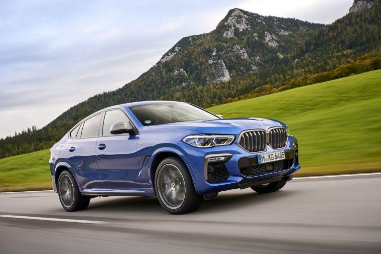 """クルマ   ブランド初の""""ライトアップ""""キドニーグリル採用の、新型『BMW X6』が登場"""