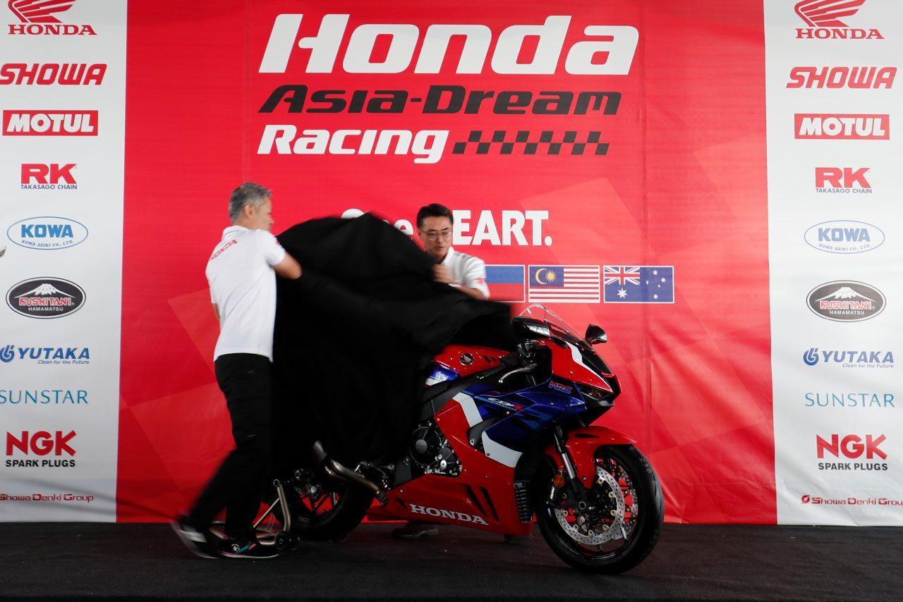 アジアにホンダCBR1000RR-Rが初上陸。元GPライダー玉田誠が率いるHonda Asia-Dream Racing with SHOWAが2020年体制発表
