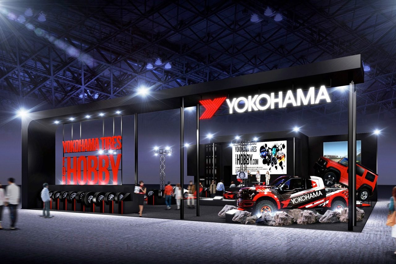 ヨコハマタイヤ、SF19のVR体験やADVANレーシングホイールなどをオートサロンに出展