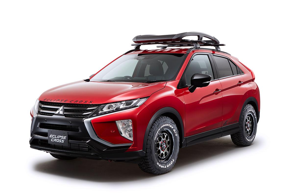 テリー伊藤プロデュース車両も。ミツビシ、東京オートサロンに新型軽スーパーハイトワゴンなど出展
