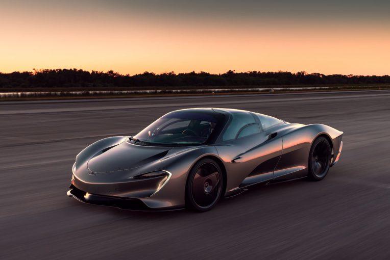 クルマ | 時速403キロに到達。マクラーレン製ハイパーGT『スピードテール』の高速テストが完了