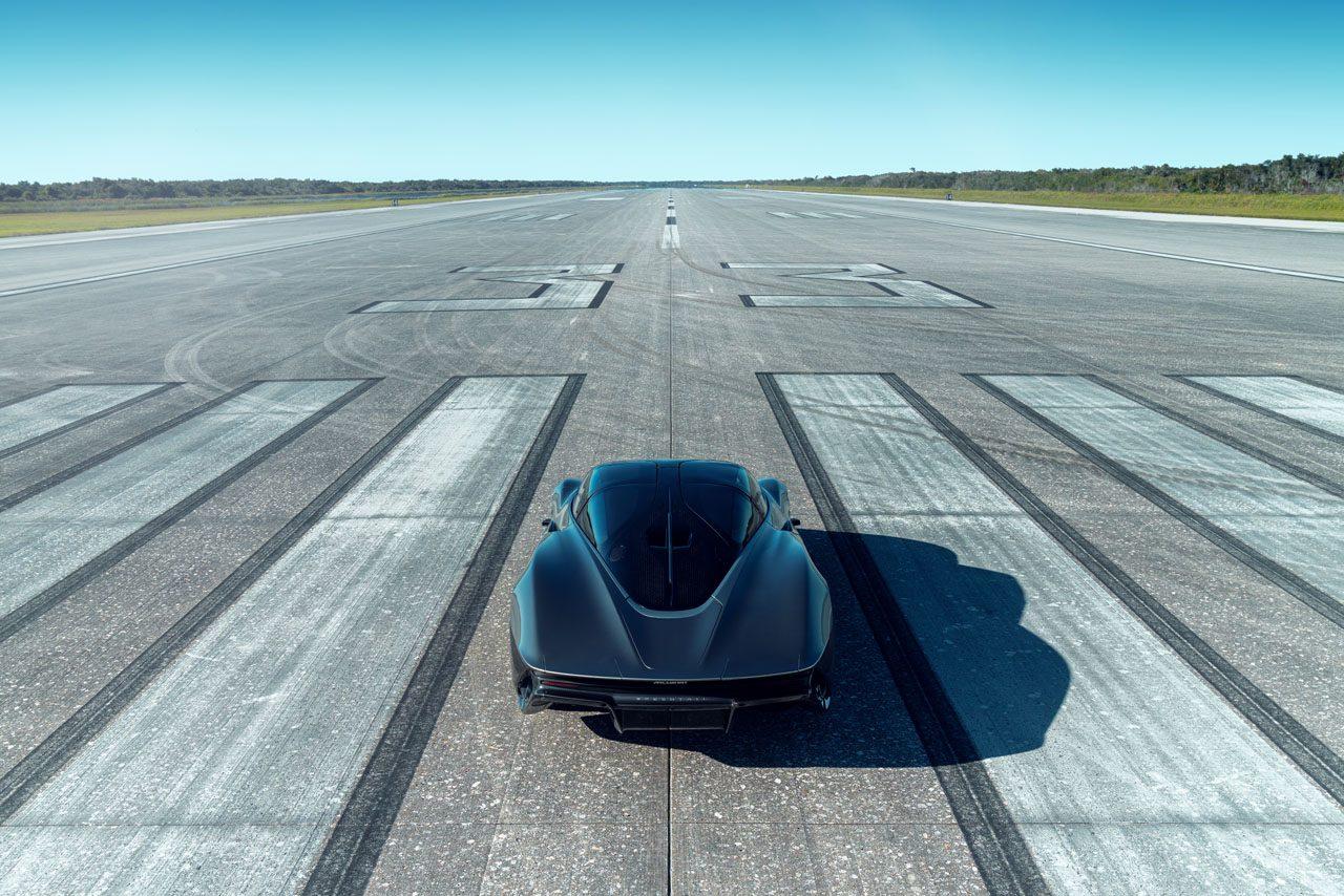 時速403キロに到達。マクラーレン製ハイパーGT『スピードテール』の高速テストが完了