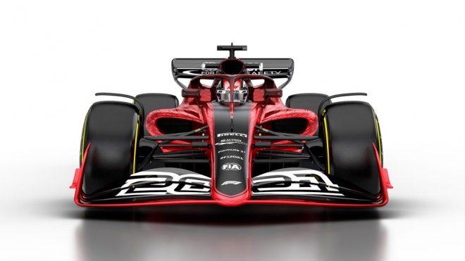 2021年F1マシンの予想図