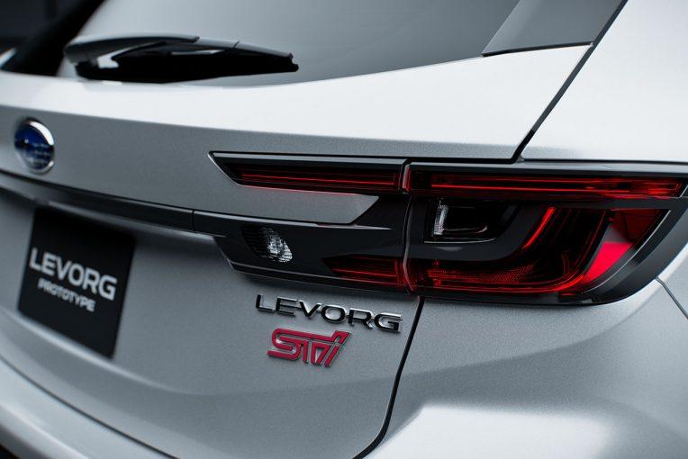 クルマ | スバル、新型レヴォーグSTIスポーツ試作車をオートサロンで初公開。2020年体制発表も実施