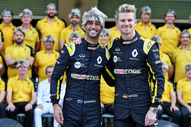2019年ルノーF1:ダニエル・リカルド、ニコ・ヒュルケンベルグ