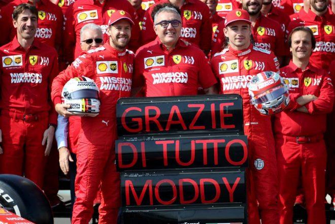 2019年F1 フェラーリ:セバスチャン・ベッテル、シャルル・ルクレール