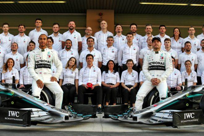 2019年F1 メルセデス:ルイス・ハミルトン、バルテリ・ボッタス