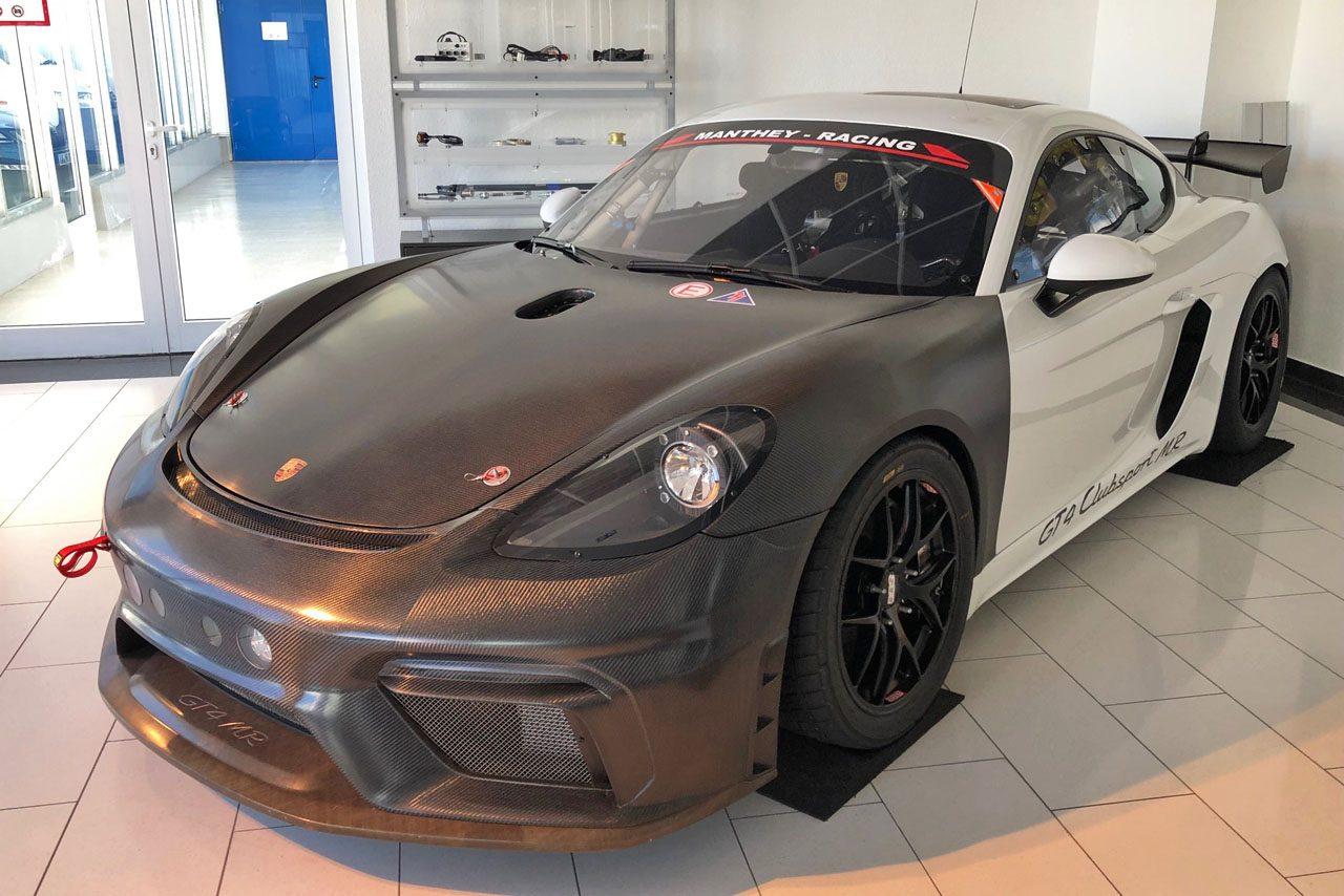 スーパー耐久:バースレーシングプロジェクトがポルシェにスイッチ。718ケイマンGT4クラブスポーツMRを国内初導入