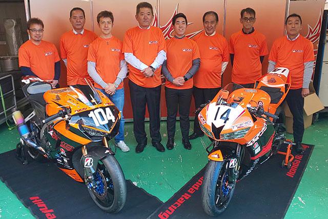 MotoGP   TOHOレーシングが3年ぶりに全日本ロード復帰。オレンジのマシンでST1000とST600にフルエントリー