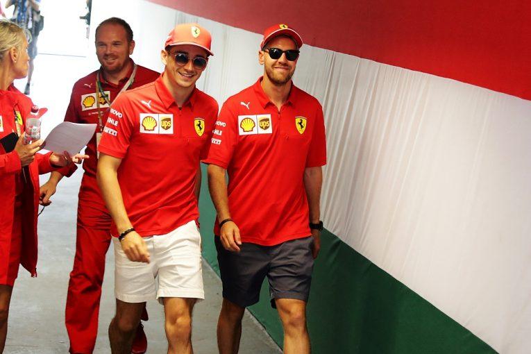 F1 | ベッテル「自分はF1ドライバーとして最強だと信じている」ルクレールとの対決を恐れず