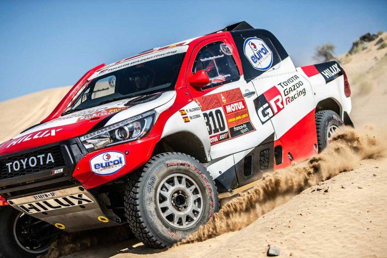 ラリー/WRC | ダカールラリー2020:アロンソ、アクシデントの状況を説明。大きく順位落とすも「このあとの数日で取り返したい」