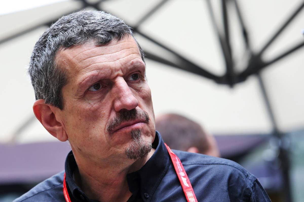 2019年F1第20戦ブラジルGP ギュンター・シュタイナー(ハースF1チームのチーム代表)