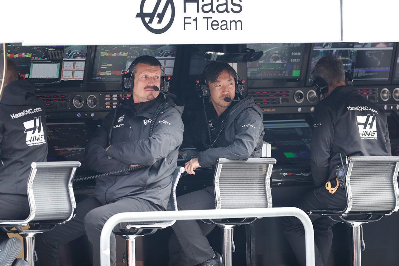 2019年F1第18戦メキシコGP ギュンター・シュタイナー代表&小松礼雄チーフレースエンジニア