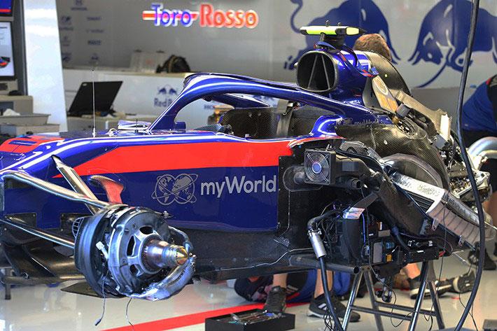 F1 | F1技術解説レビュー トロロッソ・ホンダ編:飛躍のカギとなったホンダPUの継続性とハース型の開発手法