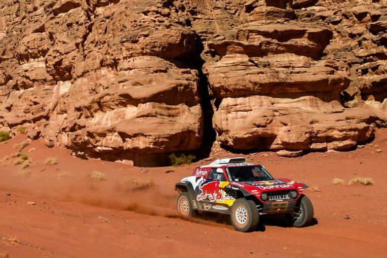 ラリー/WRC | ダカールラリー2020:競技3日目はサインツ最速で総合首位へ。アロンソがステージ5位に入る快走