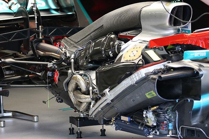 F1技術解説レビュー メルセデスマシンW10
