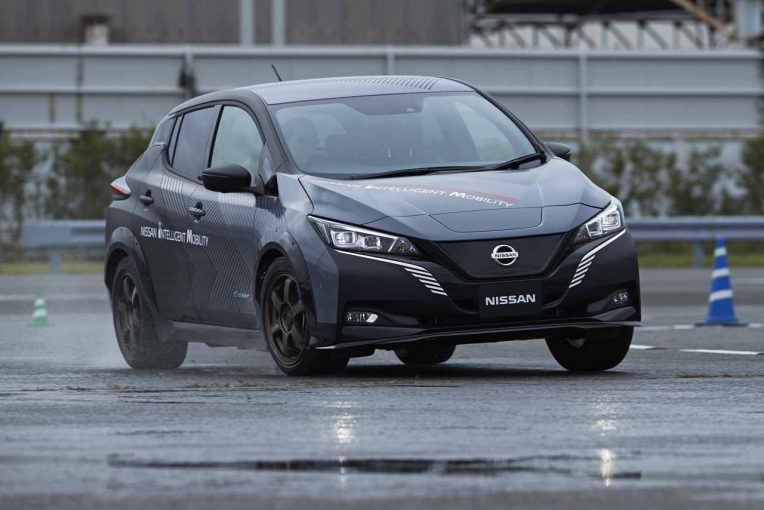 クルマ | ニッサン、電動4輪制御技術『e-4ORCE』発表。スポーツカーに匹敵するパワーとハンドリングを実現