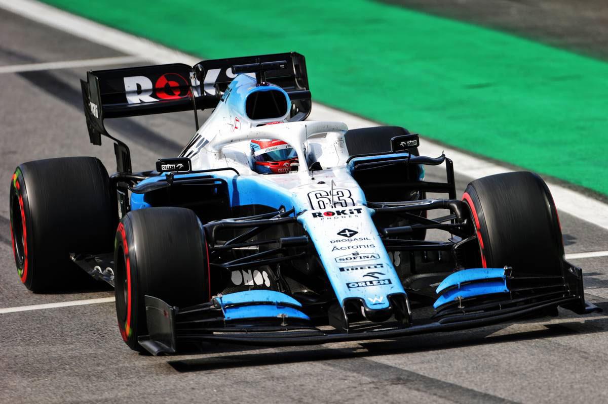 2019年F1第20戦ブラジルGP ジョージ・ラッセル(ウイリアムズ)