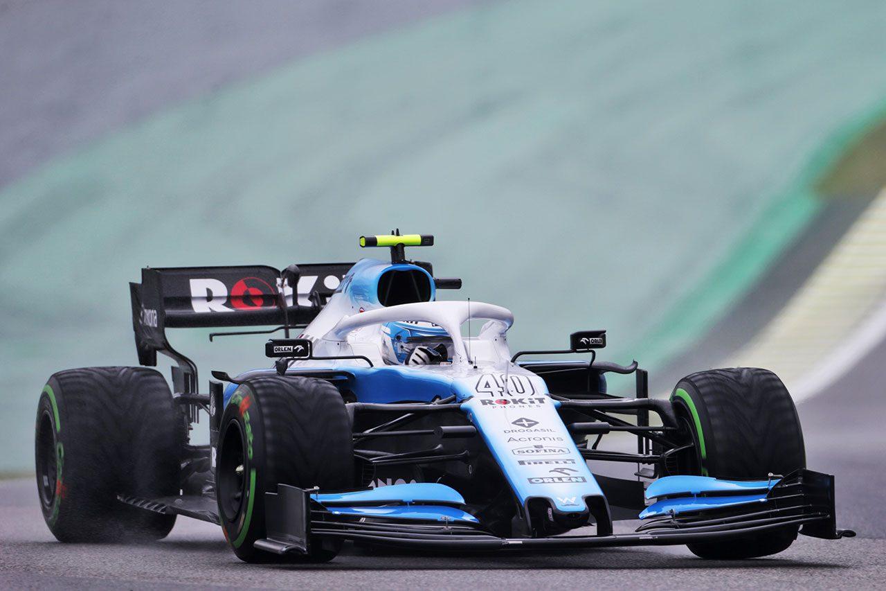 2019年F1第20戦ブラジルGP ニコラス・ラティフィ(ウイリアムズ リザーブドライバー)