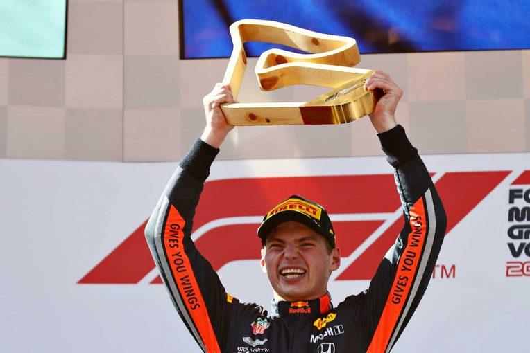 "F1 | 【動画】記憶に新しい2019年オーストリアGPも。マックス・フェルスタッペンがみせた""魔法""の数々"