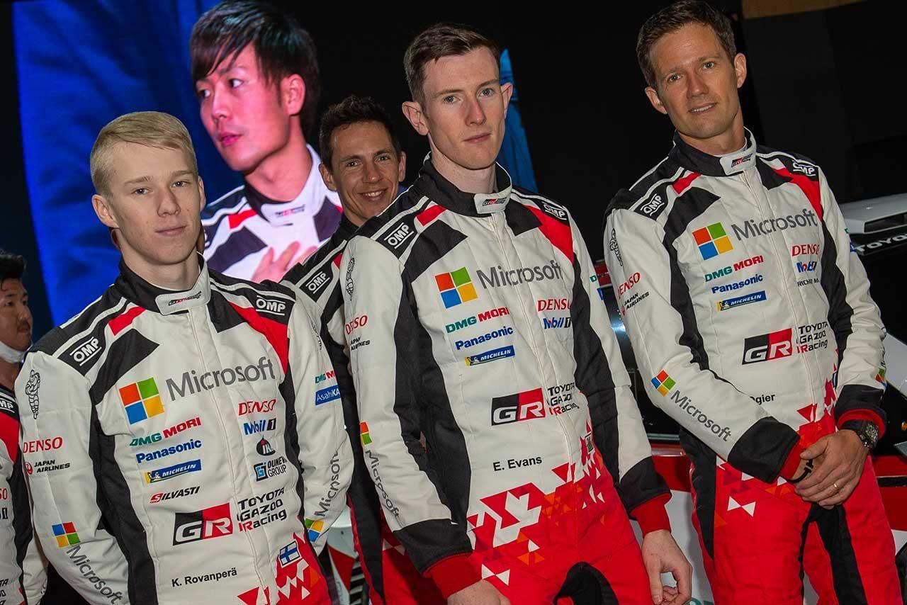 TOYOTA GAZOO Racing WRTのドライバーたち