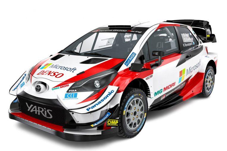 ラリー/WRC | WRC:トヨタ、2020年仕様のヤリスWRCスタジオショット公開。「より軽量かつパワフル」