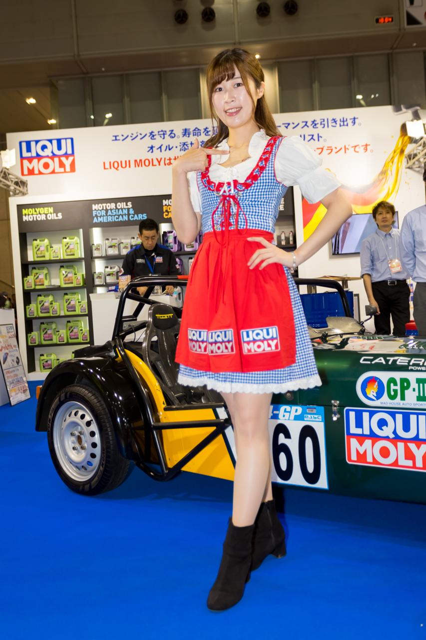 東京オートサロン2020コンパニオンギャラリー<br>及川エミ/LIQUI MOLY