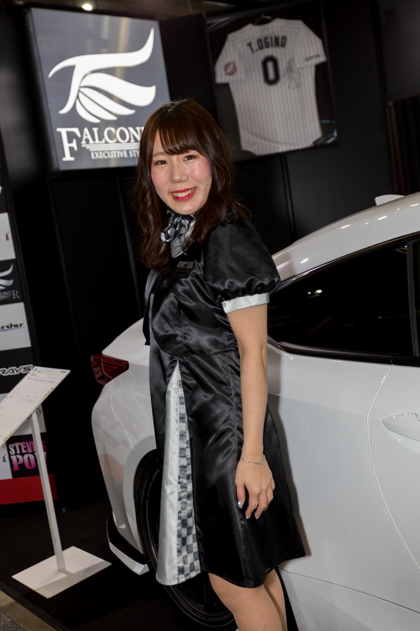 東京オートサロン2020コンパニオンギャラリー<br>南出早也佳/WonderFalconer