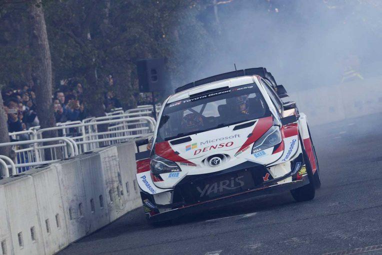 ラリー/WRC | WRC:オジエがヤリスWRCで日本初走行。東京オートサロン2020のデモランに登場