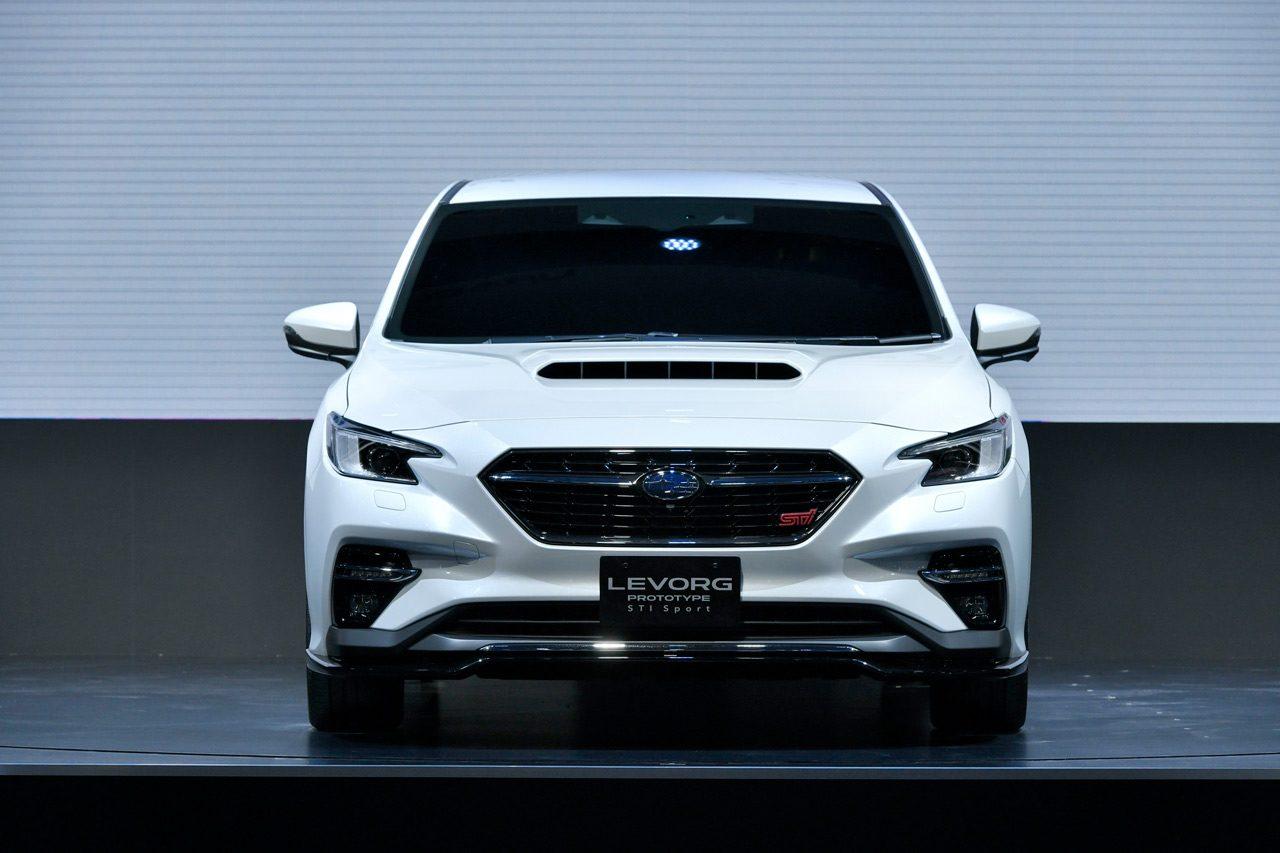 走行性能を高める新技術を搭載、新型レヴォーグ プロトタイプ STI Sportを初公開